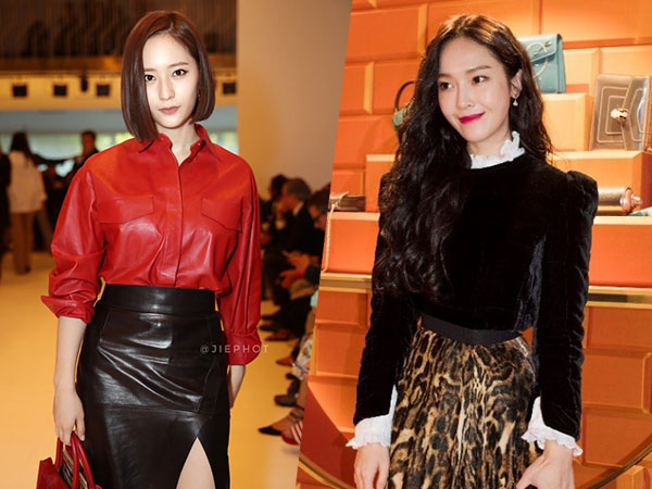 Intip Penampilan Cantik nan Stylish 'Jung Sister' di Gelaran Milan Fashion Week 2018