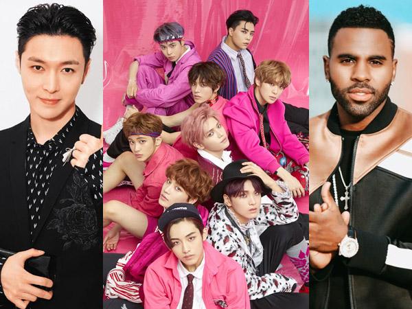 Lay EXO dan NCT 127 Kolaborasi Bareng Jason Derulo di Lagu Tribute Michael Jackson