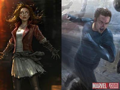 Ini Dia Dua Karakter Baru di Film 'Avengers: Age of Ultron'