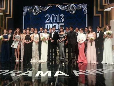 Aktor dan Aktris Top Korea Berkumpul Terima Penghargaan MBC Drama Awards 2013