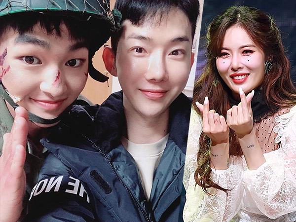 Jo Kwon Ungkap Onew SHINee Fans Berat HyunA Sampai Minta Ini Saat Wamil