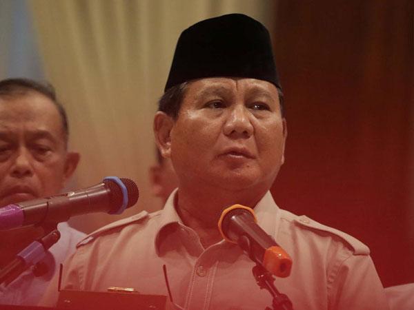 Pesan Prabowo Pada Pendukungnya di Aksi 22 Mei