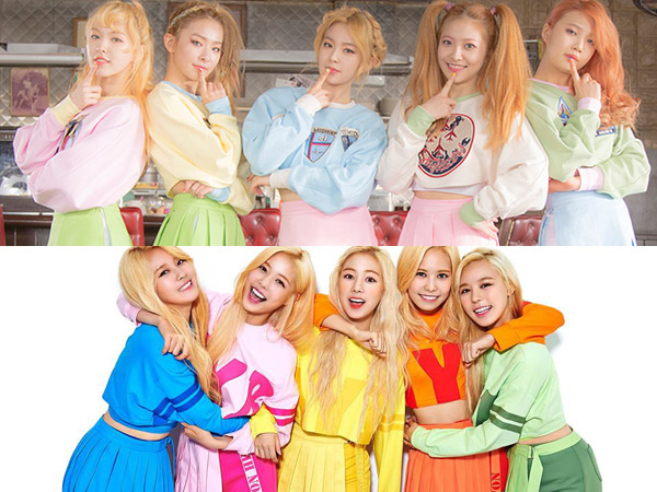 Banyak Kemiripan, Netizen Tuduh Grup Rookie MyB Tiru Konsep Red Velvet
