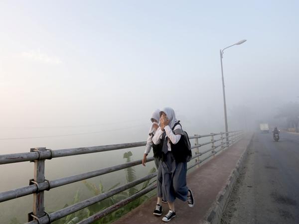 Kabut Asap Ganggu Proses Belajar, Kalender Akademik Dijadwal Ulang