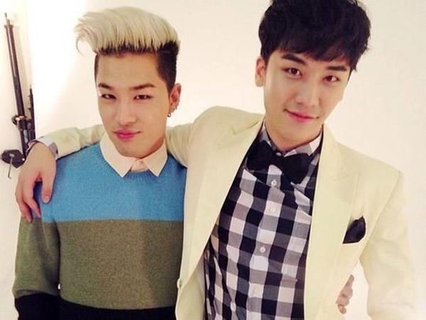 Tunjukkan Dukungan, Seungri Parodikan Teaser Comeback Taeyang Big Bang