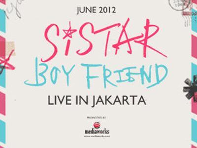 Boyfriend dan Sistar Batal Konser Di Jakarta