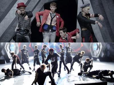 Bawakan Lagu SHINee di Music Bank, EXO Hebohkan Fans!