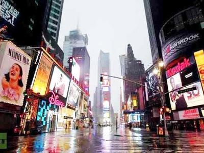 Badai Sandy Lumpuhkan Kota New York