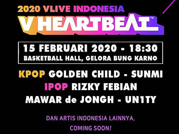 V HEARTBEAT 2020 di Indonesia Diumumkan Resmi Ditunda