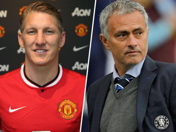 Fans Manchester United Tak Rela Bastian Schweinsteiger 'Dijual' Oleh Jose Mourinho