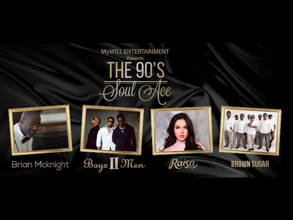 Siap-Siap Dapat Kejutan Spesial di 'The 90's Soul Ace' Bareng Boyz II Men dan Brian McKnight!