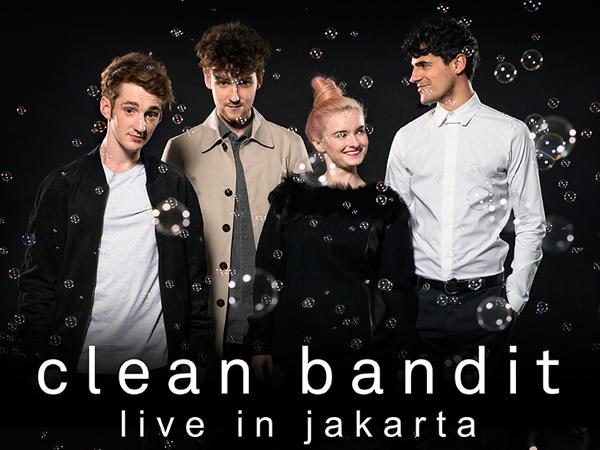Clean Bandit Akan Gelar Konser di Jakarta, Tiket Presale Mulai Rp. 575 Ribu