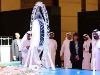 Dubai Bangun Bianglala Terbesar Saingi New York