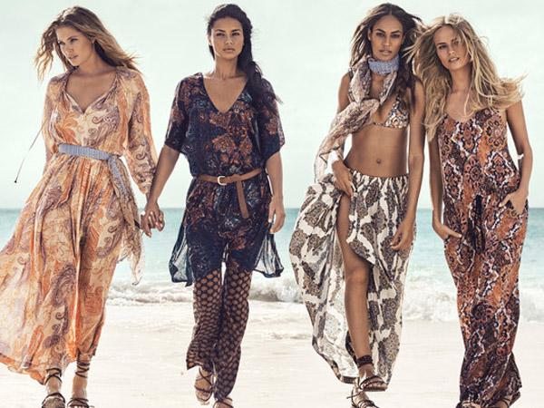 Empat Supermodel Ternama Berkumpul untuk Kampanye Koleksi Musim Panas H&M