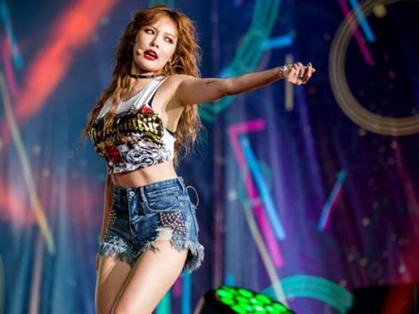 Perdana Pasca 4Minute Bubar, HyunA Tampil Seksi dan Memukau di Festival Musik Bali!