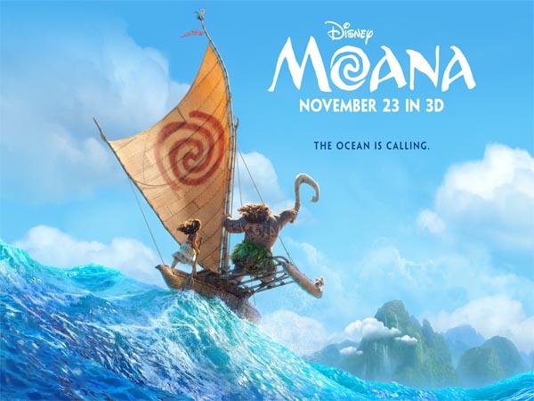 Diklaim Favorit Tahun Ini, 'Moana' Rilis Foto Teaser Karakter