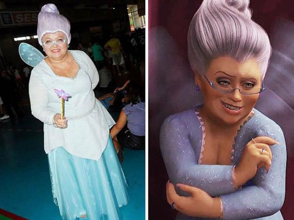 Gemasnya, Nenek Ini Gemar Pakai Baju Cosplay!
