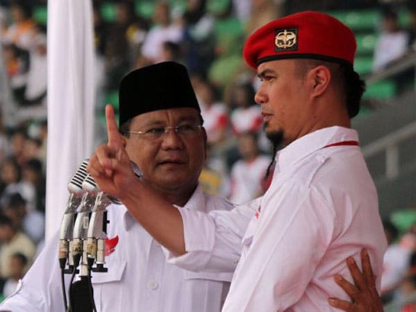 Perintah Prabowo untuk Ahmad Dhani yang Alih Profesi dari Artis Jadi Politisi