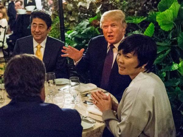 Pura-Pura Tak Bisa Bahasa Inggris di Depan Trump, Istri PM Jepang Justru Tuai Pujian