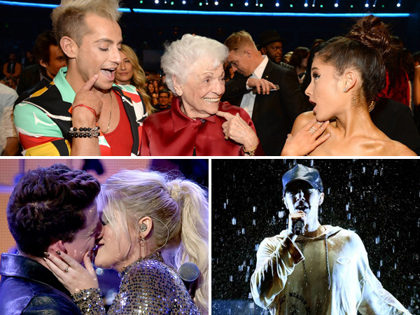 Intip Lagi Momen-momen Unik di Panggung American Music Awards 2015