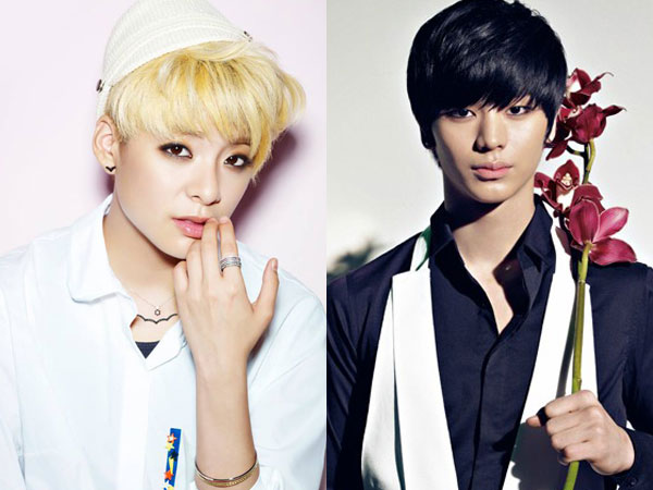 Amber f(x) & Sungjae BTOB Parodikan Adegan Ciuman Terkenal 'Man From the Stars'