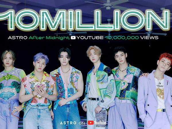 MV After Midnight Tembus 10 Juta, ASTRO Cetak Rekor Baru
