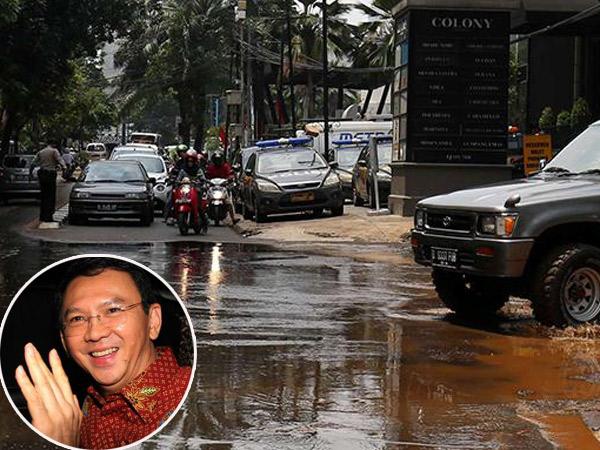 Banjir Parah Beberapa Kali, Ahok Tak Takut Gusur Kawasan Elit Kemang?