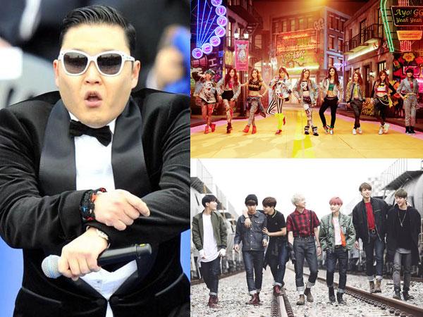 Lagu PSY, SNSD, dan BTS yang Dianggap Billboard Berpengaruh di Industri Musik Dalam 1 Dekade