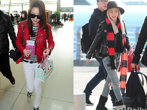 Dressed Like Your Idol: Airport Fashion Nyaman Nan Modis A la Dara 2NE1