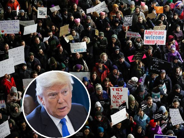 Demo Hingga Ancam Pembalasan, Bentuk Protes Warga dan Negara Atas Keputusan Donald Trump