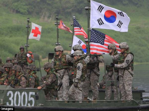 Korea Selatan dan Amerika Mulai Latihan Militer Terbesar, Siap 'Memenggal Kepala' Korut