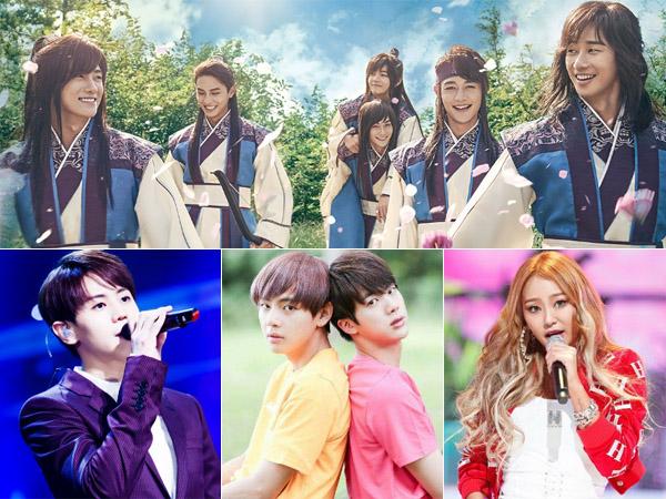 Asyik, Para Idola K-Pop Populer Ini Siap Isi OST Drama Bertabur Aktor Tampan KBS 'Hwarang'!
