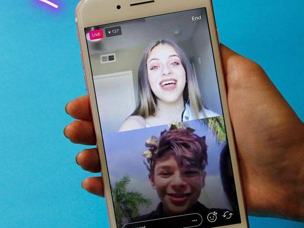 Live di Instagram Stories Kini Bisa Dilakukan Dua Orang!
