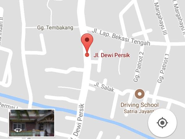 Jalan Dewi Sartika Berubah Jadi Dewi Persik, Dinas Kota Bekasi Minta Klarifikasi Google