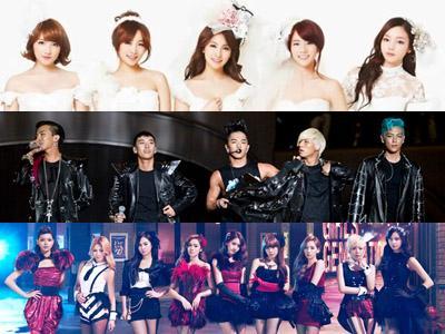 Ini Dia Para Idola K-Pop Pemenang Penghargaan Japan Golden Disk Award 2013