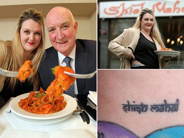 Demi Makanan Gratis Seumur Hidup, Wanita Ini Buat Tato Logo Restoran Favoritnya!