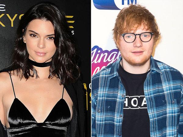Kendall Jenner dan Ed Sheeran Dikritik Pedas Karena Dianggap Mendukung Chris Brown!
