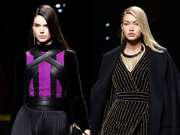 Kendall Jenner Hingga Karlie Kloss, Balmain Show Bertabur Bintang di Paris Fashion Week