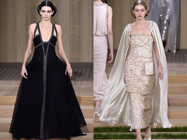 Kendall Jenner dan Gigi Hadid Kenakan Gaun 'Impian' di Fashion Show Haute Couture Chanel