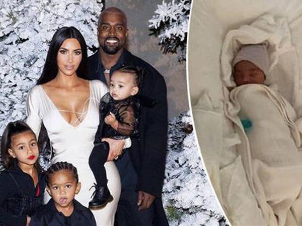 Kanye West dan Kim Kardashian Patenkan Nama Anak Keempat untuk Urusan Bisnis