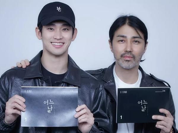 Drama 'One Ordinary Day' Rilis Foto Pembacaan Skrip Kim Soo Hyun dan Cha Seung Won