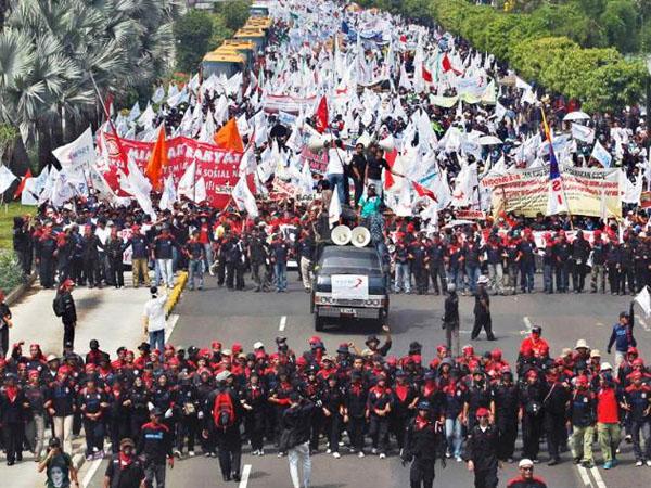 Ini Jalan di Ibu Kota yang Harus Dihindari Agar Tak Kena Macet Saat May Day