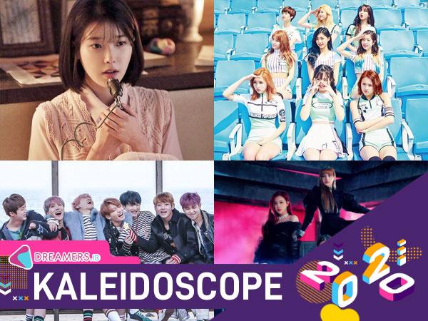 100 Lagu Terhits di Chart Melon dalam 10 Tahun Terakhir, IU Paling Banyak