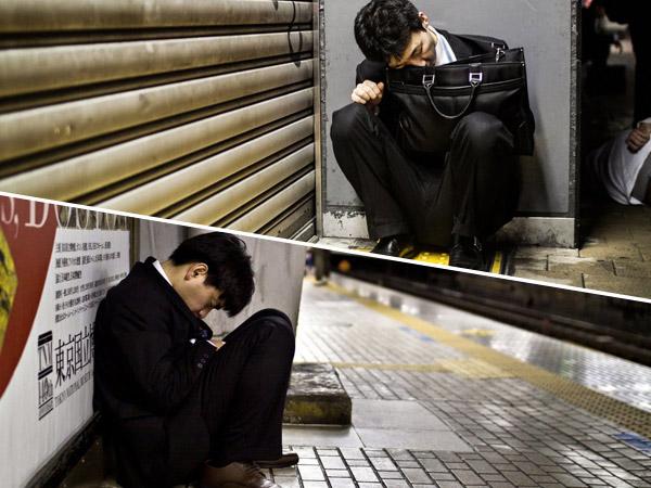 Potret Tragis Karyawan Jepang yang Kelelahan Karena Punya Pola Kerja 'Mengerikan'