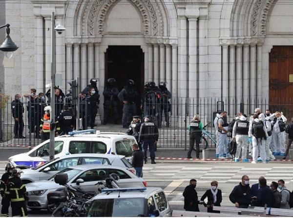 5 Fakta Kasus Penikaman Jemaat Prancis dengan Korban Tewas Digorok