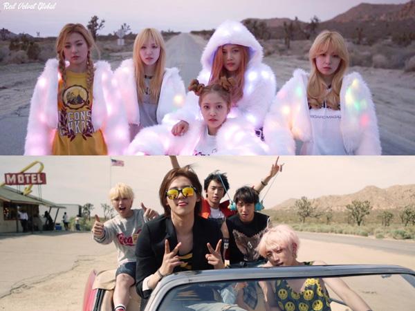 Lokasi Hingga Konsep Video Musiknya Banyak Kemiripan, Red Velvet Tiru B1A4?