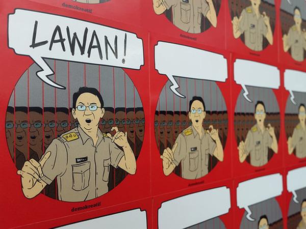 Seniman Jakarta Lawan Korupsi dengan Lukisan, Foto, Hingga Komik
