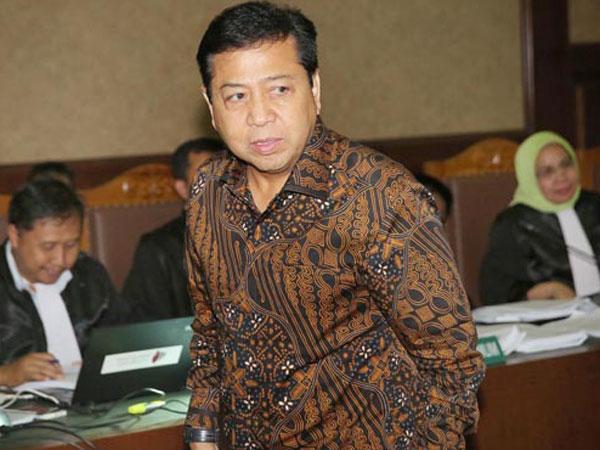 Nama Setya Novanto Hilang dalam Berkas Putusan Kasus Korupsi E-KTP, Kok Bisa?