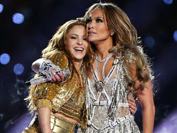 Tampil Megah di Super Bowl 2020, Shakira dan Jennifer Lopez Tak Dibayar!