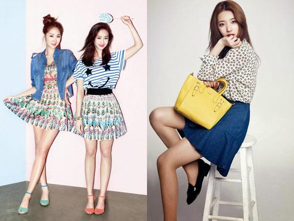 Contek Inspirasi Gaya Fashion Musim Semi Para Idola K-Pop Ini Yuk!